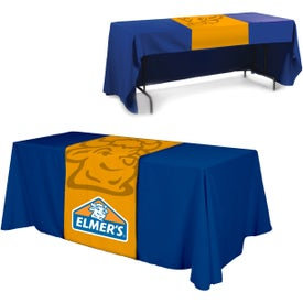 Table Runner (Front, Top, Back, Full Color Logo, Quick Ship)