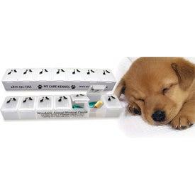 Customized All-Pet Pill Box
