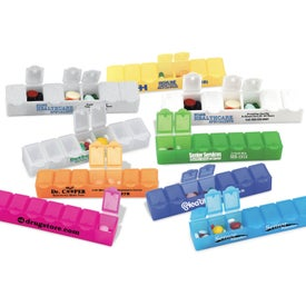 "All-Week Pill Box - 6"""