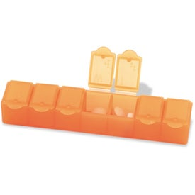 "Big 7 All-Week Pill Box 7"" for Customization"