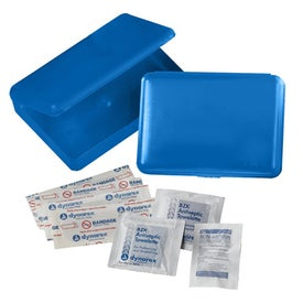 Aloe First Aid Kit Imprinted with Your Logo