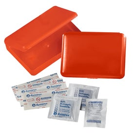 Aloe First Aid Kit Printed with Your Logo