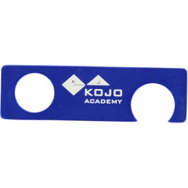 Aluminum Bottle Opener With Grip Hole for your School
