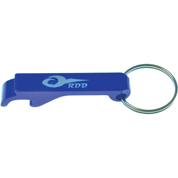 Blue Aluminum Bottle Opener