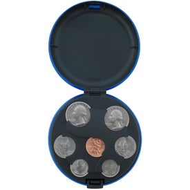 Company Aluminum Coin Holder