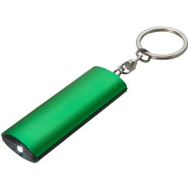 Imprinted Aluminum Key Chain Flashlight