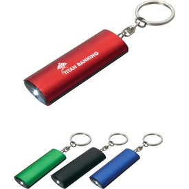 Aluminum Key Chain Flashlight for Advertising