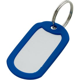Imprinted Aluminum Key Ring