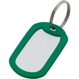Aluminum Key Ring Branded with Your Logo
