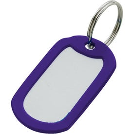 Aluminum Key Ring Imprinted with Your Logo