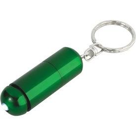 Advertising Aluminum LED Key Ring Light