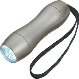 Monogrammed Aluminum LED Light with Strap