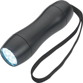 Aluminum LED Light with Strap Imprinted with Your Logo