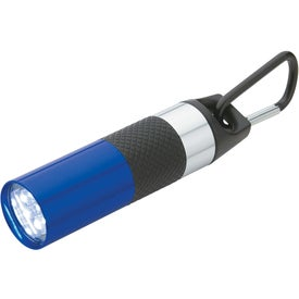 Aluminum LED Torch With Bottle Opener with Your Slogan