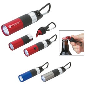 Aluminum LED Torch With Bottle Opener for Your Organization