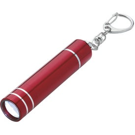 Aluminum LED Light With Key Clip for Promotion