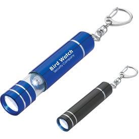 Aluminum LED Light With Key Clip