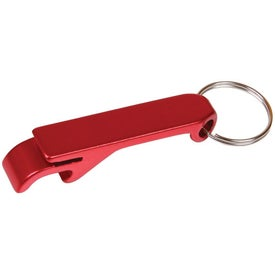 Aluminum Bottle Opener Key Tag for Marketing