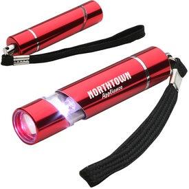 Aluminum Scope LED Flashlight Branded with Your Logo