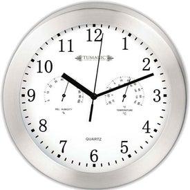 Company Aluminum Wall Clock
