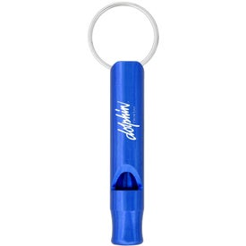 Aluminum Whistle Keychain