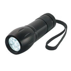 Customized Aluminum LED Torch Light With Strap