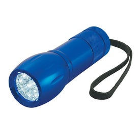 Aluminum LED Torch Lights with Strap