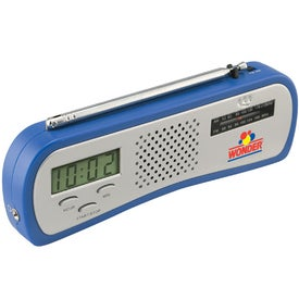Promotional AM/FM Alarm Clock Radio