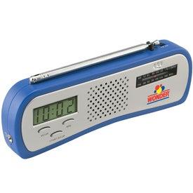 Promotional AM/FM Alarm Clock Radio