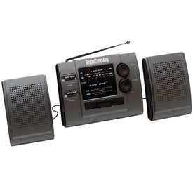 AM/FM Boom Box Radio With Detachable Speakers for Customization