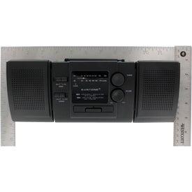 Custom AM/FM Boom Box Radio With Detachable Speakers