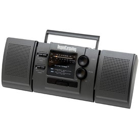 AM/FM Boom Box Radio With Detachable Speakers