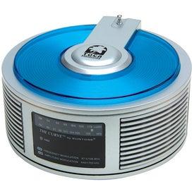 Printed AM/FM Curve Radio