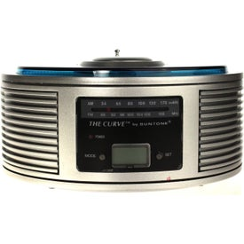 Company AM/FM Curve Alarm Clock Radio
