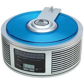 AM/FM Curve(TM) Alarm Clock Radio