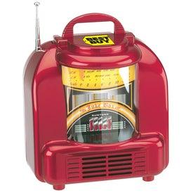 Personalized AM/FM Juke Box Style Radio