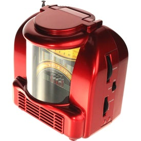 AM/FM Juke Box Style Radio Branded with Your Logo