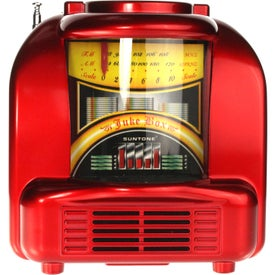 Promotional AM/FM Juke Box Style Radio