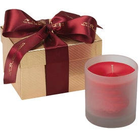 Andromeda Gift Box with Candle for Advertising