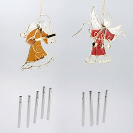 Angel Wind Chime Printed with Your Logo