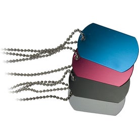 Company Anodized Aluminum Dog Tag