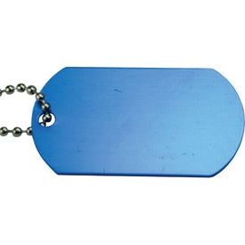 Anodized Aluminum Dog Tag for Your Company