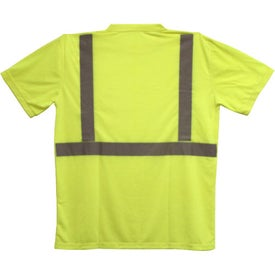 ANSI 2 Yellow Safety T-Shirt with Your Logo