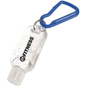 Antibacterial Gel with Carabiner for Your Organization