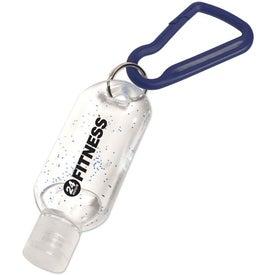 Personalized Antibacterial Gel with Carabiner