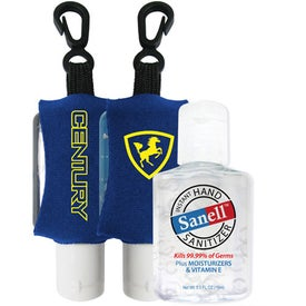 Antibacterial Hand Sanitizer with Neoprene Sleeve for Your Church