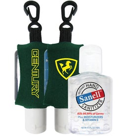 Customized Antibacterial Hand Sanitizer with Neoprene Sleeve