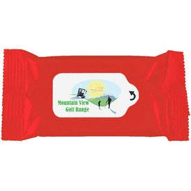 Customized Antibacterial Wet Wipe Packet