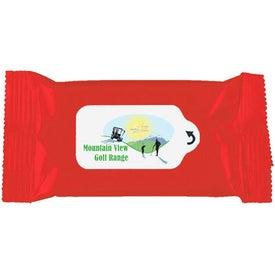 Customized Antibacterial Wet Wipe Packet