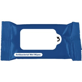 Antibacterial Wet Wipe Packet for Your Company